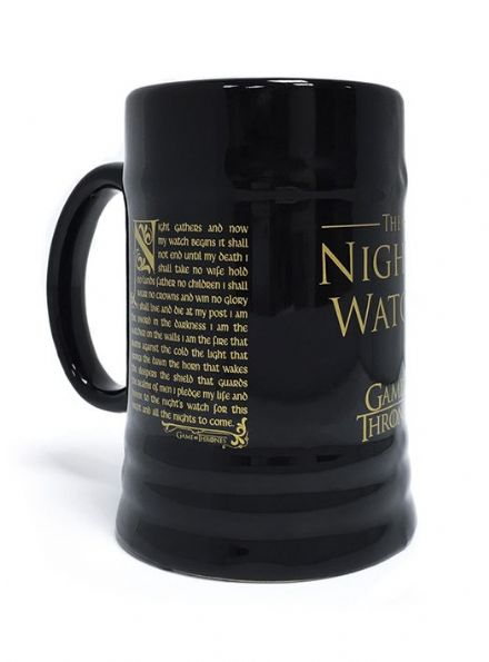Game of Thrones The Nights Watch Oath Ceramic Stein
